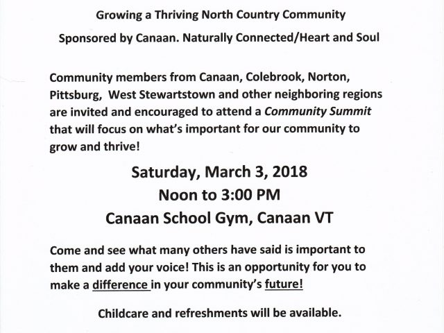 Canaan Community Summit